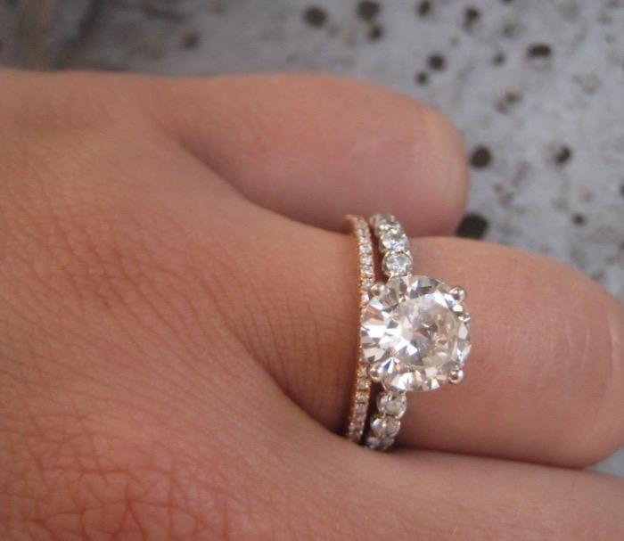Sparkling Diamond Rings