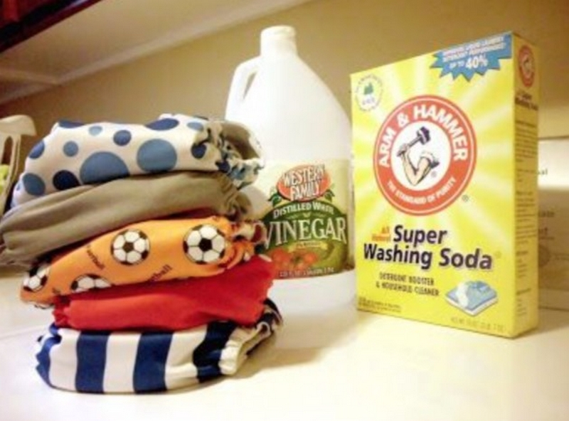 Nettoyez Les Couches En Tissu